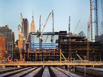 Construction site in NYC - Construction - Expertise