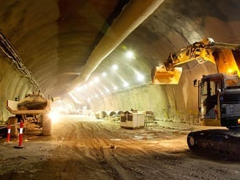 Tunnel being developed - Tunneling - Expertise